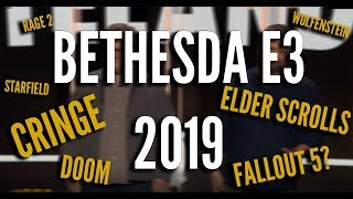 Bethesda E3 2019 Recap, Reaction, and Review