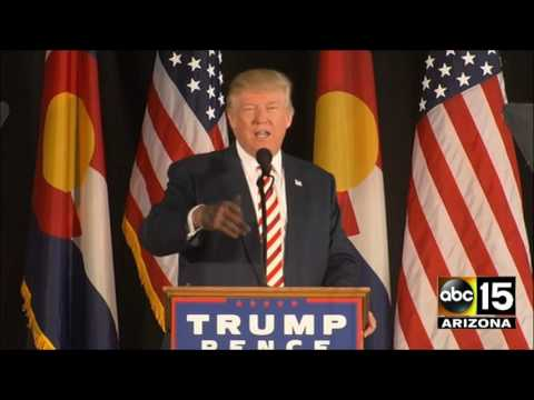 FULL Donald Trump campaign rally in Colorado Springs, CO