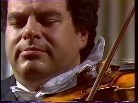 Perlman Tchaikovsky Concerto Moscow 1990