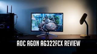 aOC AGON AG322FCX Gaming Monitor Review