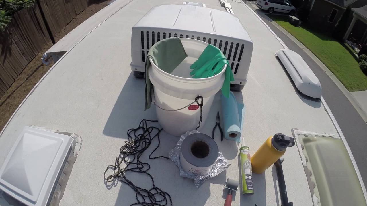 Superior How To Apply Eternabond Tape To RV Roof