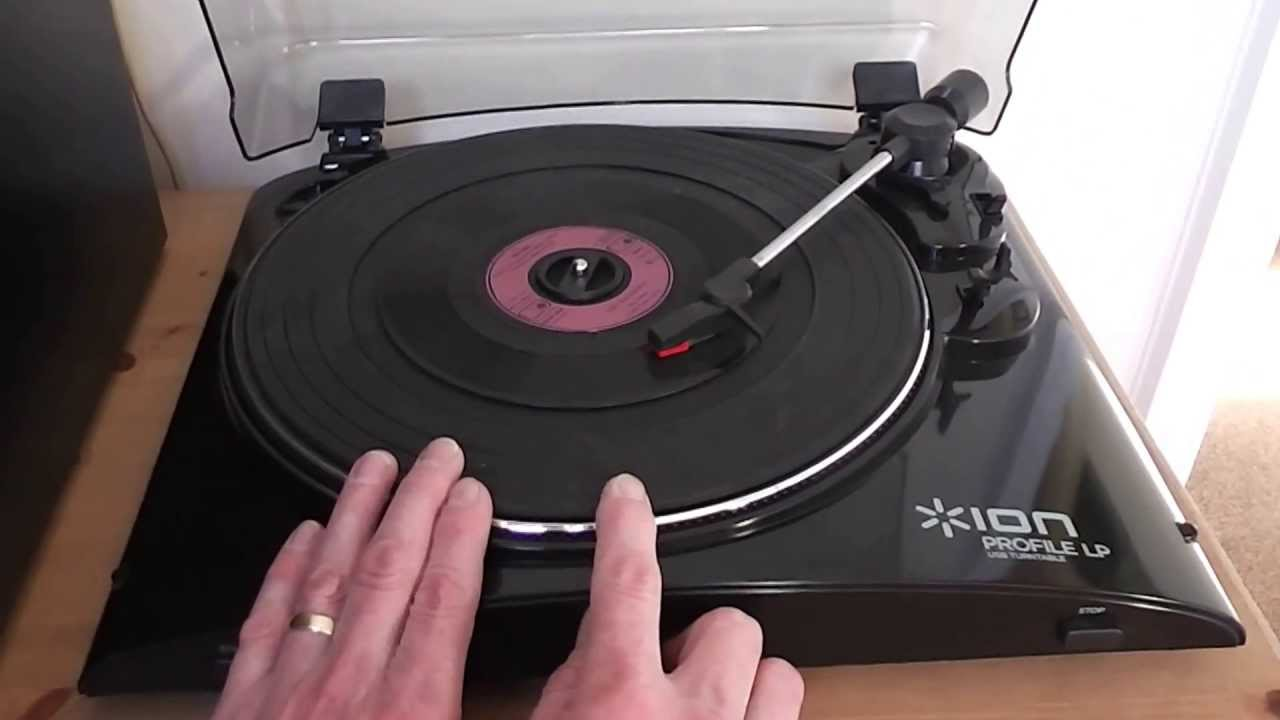 vinyl record player to pc how does it work ion profile youtube. Black Bedroom Furniture Sets. Home Design Ideas