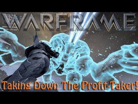 Warframe - Taking Down The Profit-Taker! thumbnail