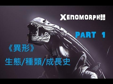 電影怪物介紹:異形(Xenomorph ) 上篇