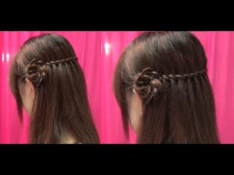Hairstyles – Tết Tóc Thác Nước – Kiểu Tóc Đẹp Mà Đơn Giản | Yêu Làm Đẹp
