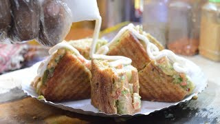 MELTING CHEESE Sandwich | Mouthwatering Sandwich Recipe | Indian Street Food