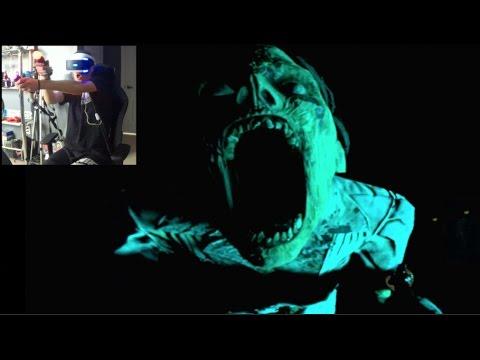 Playstation VR - Until Dawn Ep2 - GIANT SPIDER BOSS! | SLAPTrain
