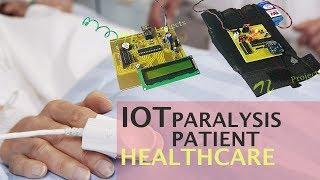 DIY IOT Paralysis Patient Healthcare Project