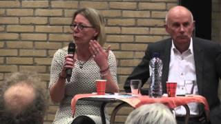 Meeden ,dorpenronde college van Menterwolde (Vragen over Windpark N33