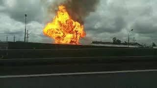 Фото В Подмосковье загорелась Северная ТЭЦ