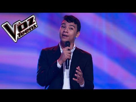 Leandro Teherán canta 'Todo de cabeza' | Audiciones a ciegas | La Voz Teens Colombia 2016