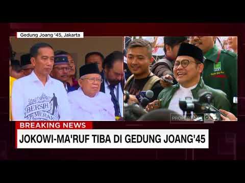 FULL - Pidato Deklarasi Paslon Jokowi-Ma'ruf Sebelum Mendaftar ke KPU