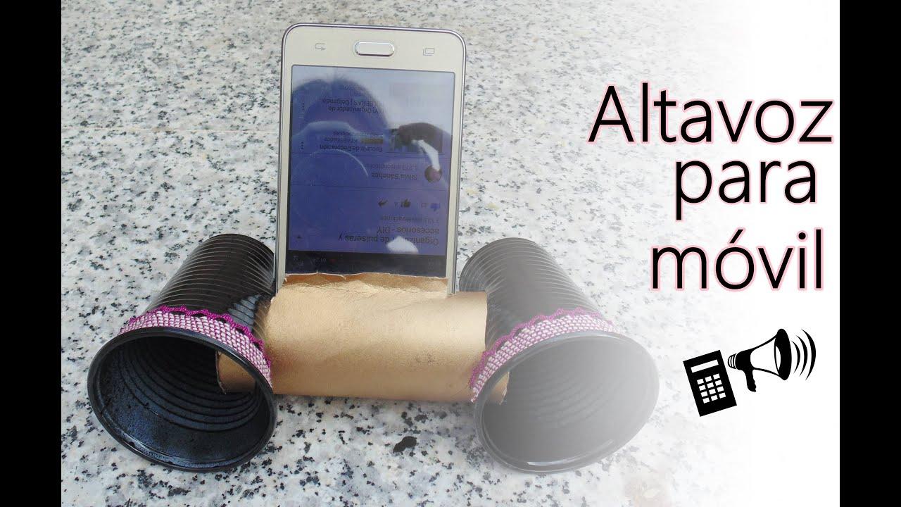 C mo hacer un altavoz casero para m vil diy speaker - Como hacer un photocall casero ...