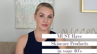 MUST Have Anti-Aging Ingredients in your 40's || Skincare Sunday- Elle Leary Artistry