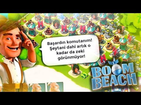 Dr. KAVAN'dan Dr T'ye TAKTİK SAVAŞI -BOOM BEACH
