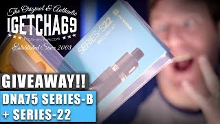 Giveaway Time! DNA75 Series-B + Series-22