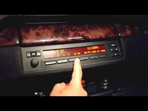 bmw x5 e53 radio cd player removal and replacement with. Black Bedroom Furniture Sets. Home Design Ideas