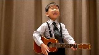 Tien - Vang - Tien's Blog - Ukulele - obladi oblada thần đồng Guita .flv