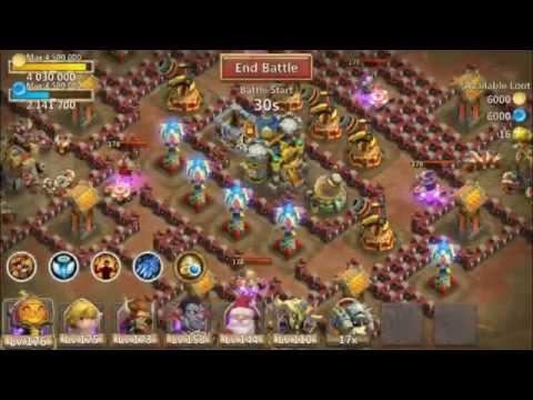 Jtisallbusiness Castle Clash Dungeon Farming 40 Shard Super Fast Under 10 Seconds