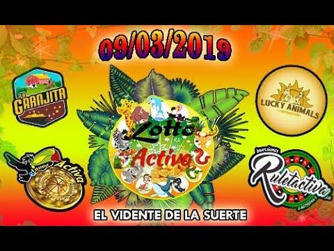 Datos Fijos para Lotto Activo y la Granjita 09/03/2019 El Vidente de la Suerte!!!