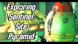 Fallout 4 - Exploring the Sentinel Site Pyramid