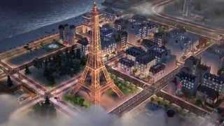 SimCity BuildIt Paris Town Update Trailer