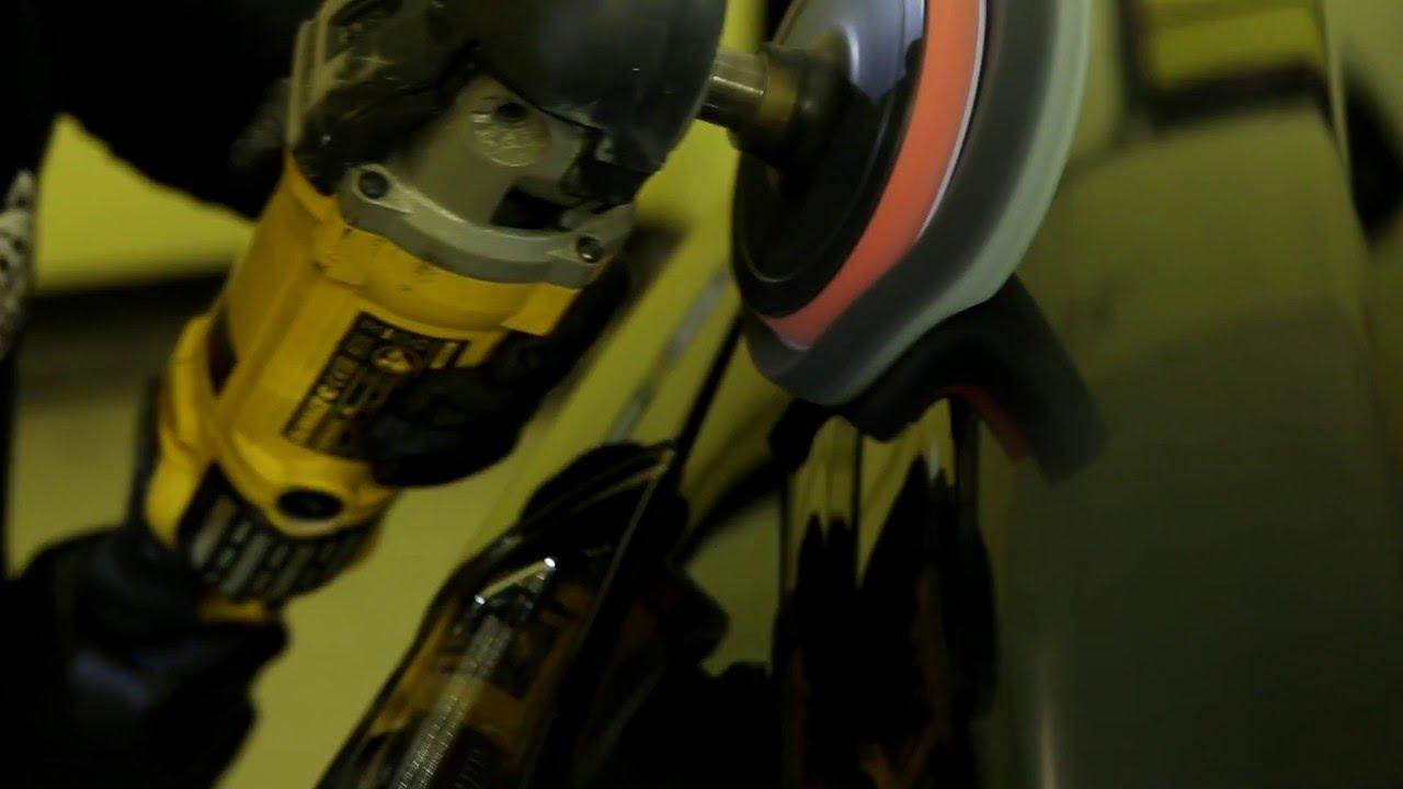 Кузовной ремонт Audi A4 небольшой удар в угол