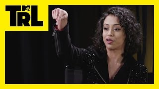 Liza Koshy & the 'Pitch Perfect 3' Cast Talk 2018 Resolutions | TRL Weekdays at 4pm