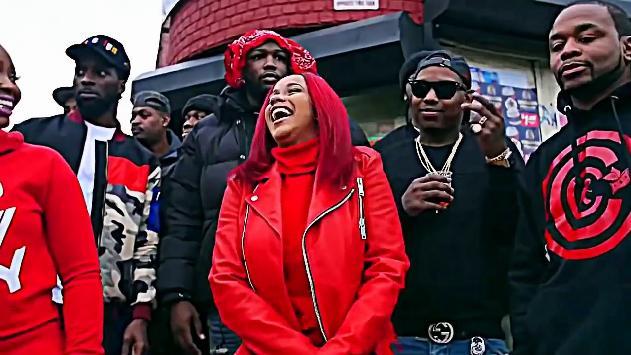 Cardi B Blood: Red Bars Freestyle💋 2017 Official Video 💋WSHH
