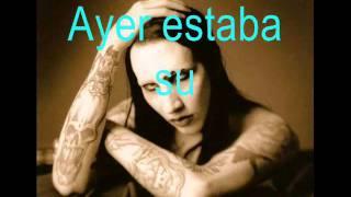 THE NOBODIES-MARILYN MANSON subtitulado en español.