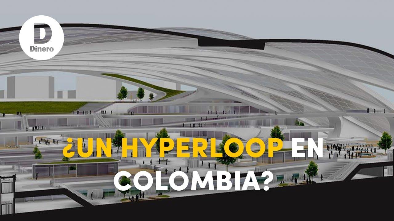 Emprendedores se proponen conectar Bogotá y Medellín en 30 minutos con hyperloop | Videos Dinero