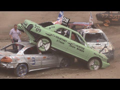 2018 Musgrave Harbour Demolition Derby - Small Car Heats