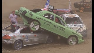 2018 Musgrave Harbour Demolition Derby - Small Car Heats