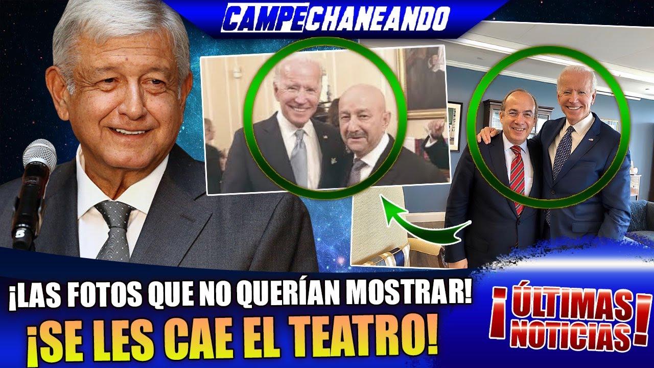 ESTO ACABA DE PASAR ¡AMLO DESCUBRE PLAN SECRETO DE CARLOS SALINAS Y FELIPE CALDERÓN!