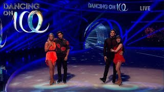 Find Out If Kem Cetinay or Max Evans Skated Home in the Semi-Final... | Dancing On Ice 2018