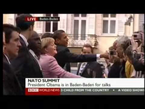NATO Summit 2009 - Opening 1 of 2 - BBC World News Reports
