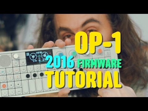 OP-1 Tutorial by Cuckoo (2016 new firmware update)