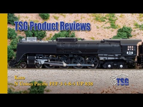 N Scale Union Pacific No 838 4-8-4 Kato Product Review