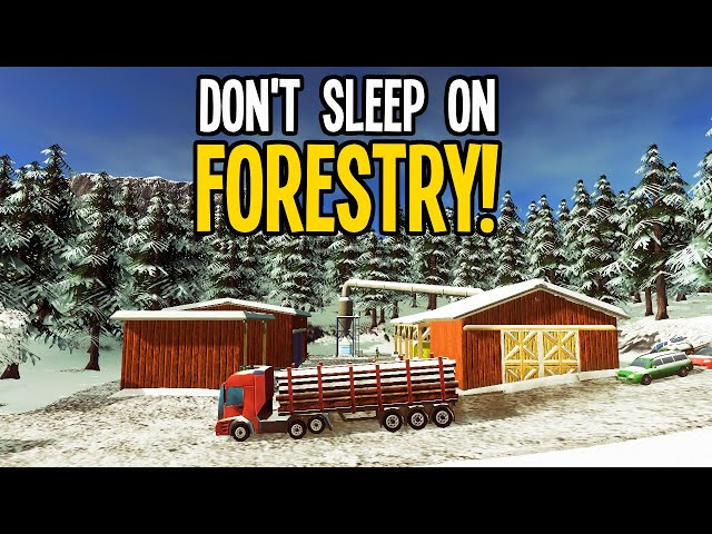 How Forestry Brings in the Dosh in Vanilla Cities Skylines!