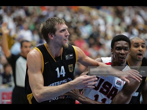 USA vs Germany 2006 FIBA Basketball World Championship Quarter Finals FULL GAME English