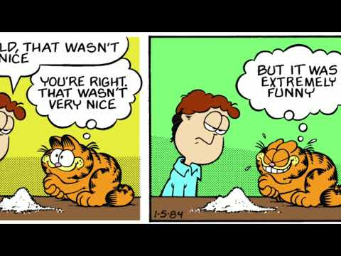 An Introduction To The Garfield Comic Strip Youtube