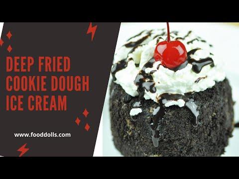 How To Make Deep Fried Ice Cream - Deep Fried Cookie Dough Ice Cream