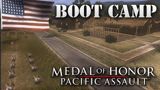 "Medal of Honor: Pacific Assault. Part 1 ""Boot Camp"""