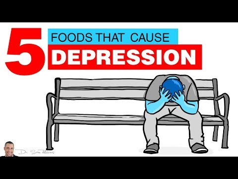 🧠 5 Common Foods That Cause Or Increase Depression