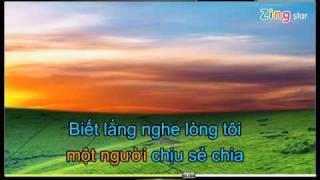 chinh em - karaoke