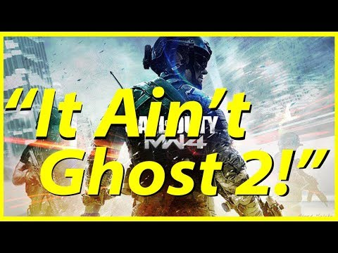 """""""It Ain't Ghost 2!"""" (Modern Warfare 4 possibility)"""