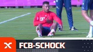 Schockmoment beim FC Bayern! Trainingsabbruch wegen Corentin Tolisso   FC Bayern München   SPOX