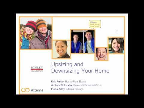 Alterna Webinar: Upsizing and Downsizing Your Home - Part 1