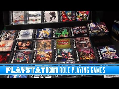 PlayStation Role Playing Games RPGS