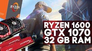 Последние тесты Ryzen 1600 + GTX 1070